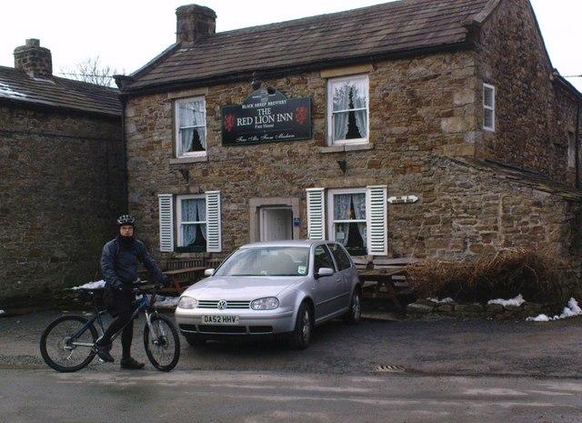 Pub at Langthwaite
