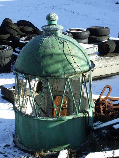 Old lighthouse dome
