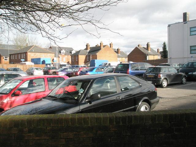 Car park in Upper Brook Street