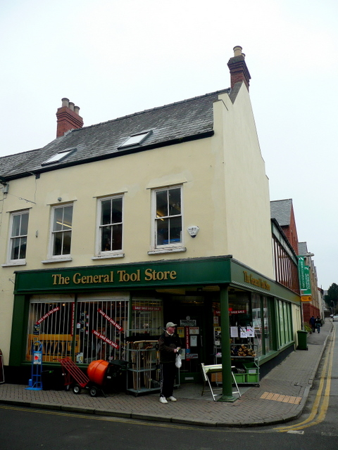 Tool shop, Ross-on-Wye