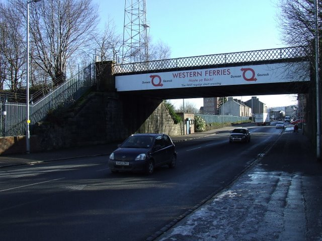 Brougham Street railway bridge