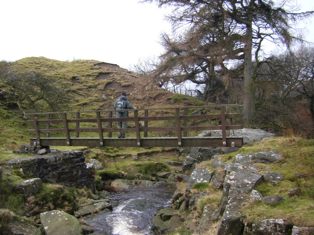 Footbridge near Harterbeck