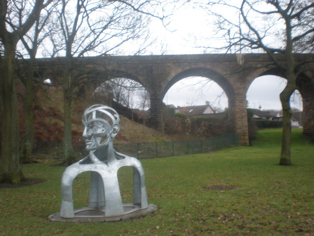 One of Centenary Park's New Sculpture