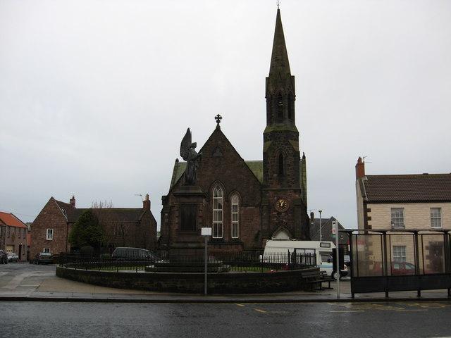 The War Memorial (Cenotaph) in Berwick