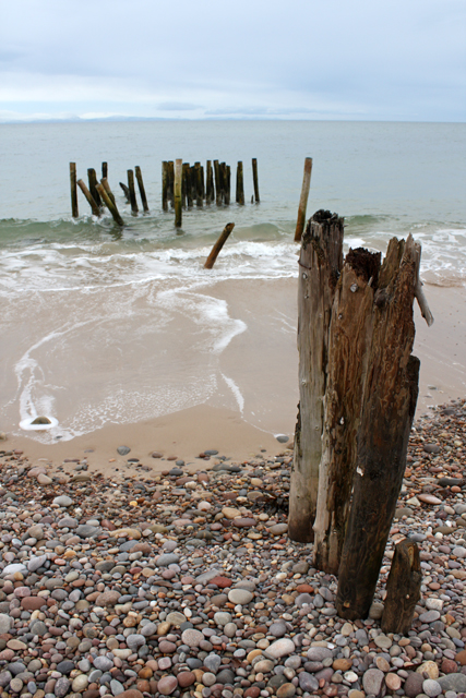 Old Groyne, Culbin Beach