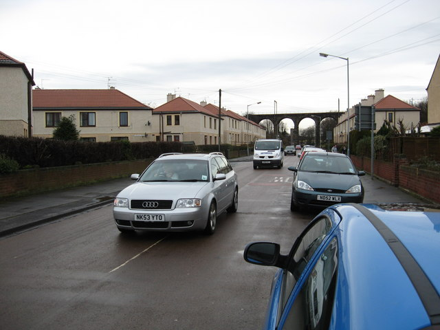 The A698 in Tweedmouth