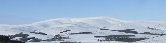 View of the Wirren hills