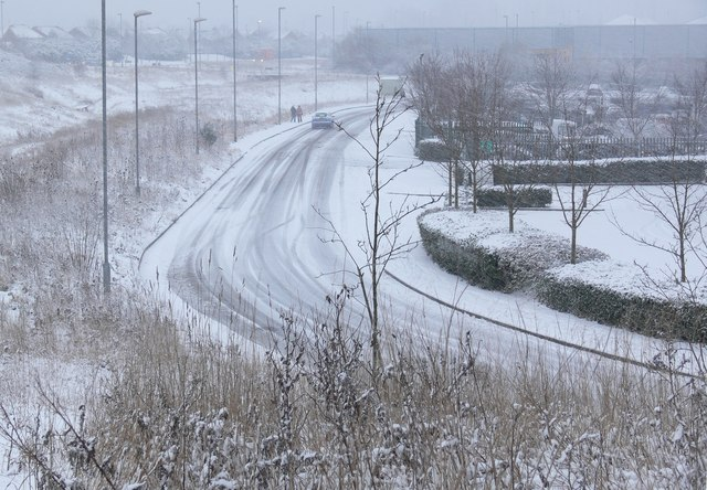 A snowy Vitruvius Way