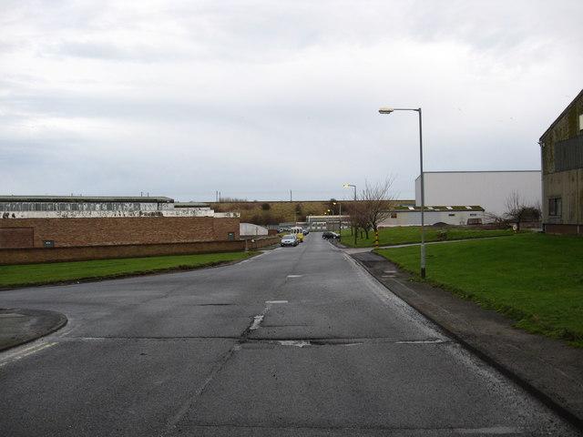 Tweedside Industrial Estate.