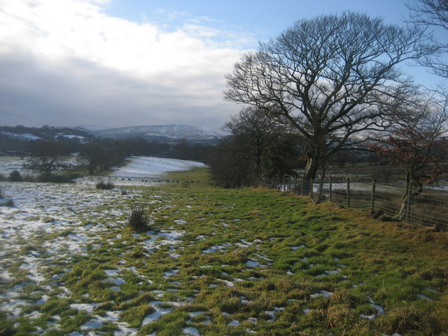View towards Pendle Hill