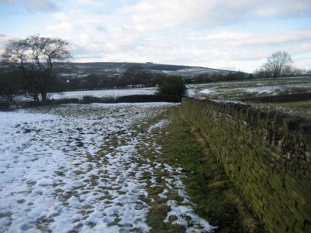 In Fields East of Foulridge