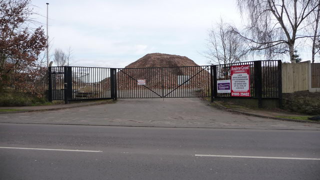 Re-development site.