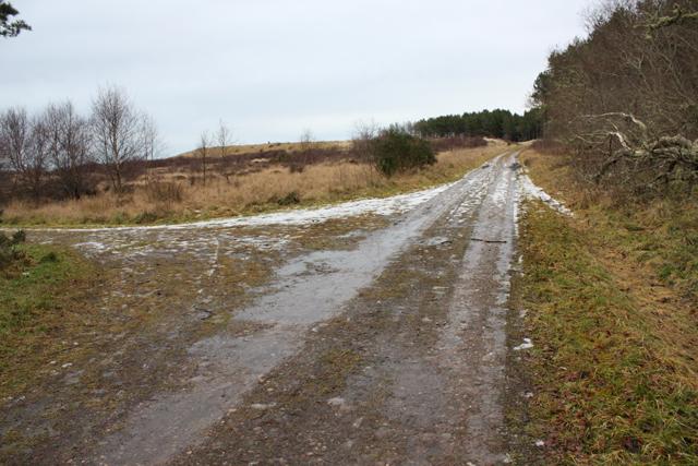 Track Junction by Buckie Loch