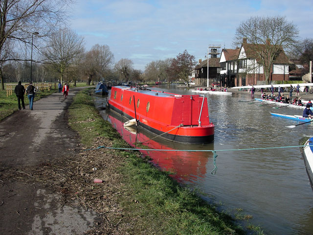 River Cam, waters dropping