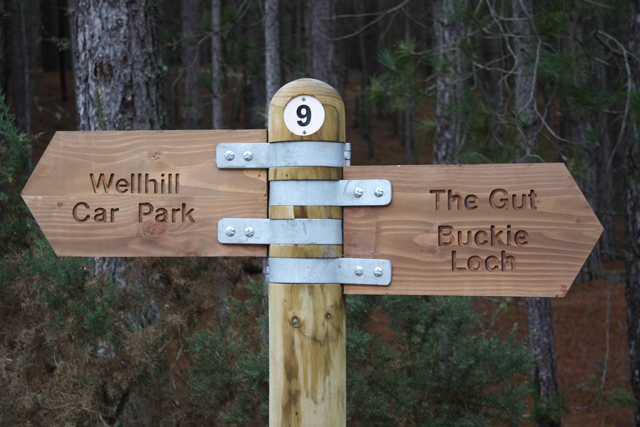 Signpost at Junction 9