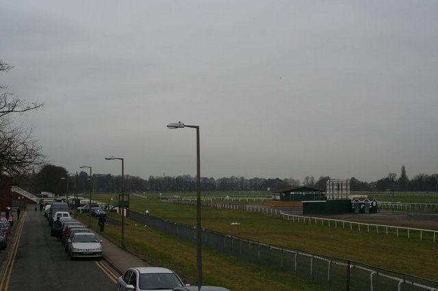 Racecourse from the bridge