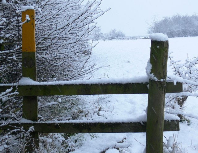 Footpath to Abbey Farm
