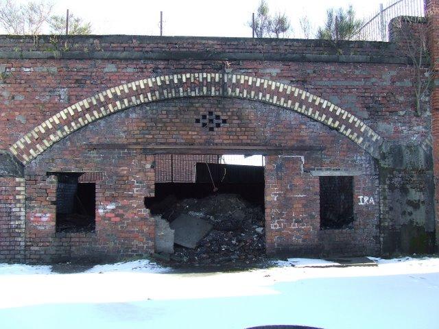 Old railway arch