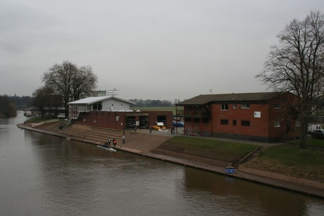Rowing club on the Severn