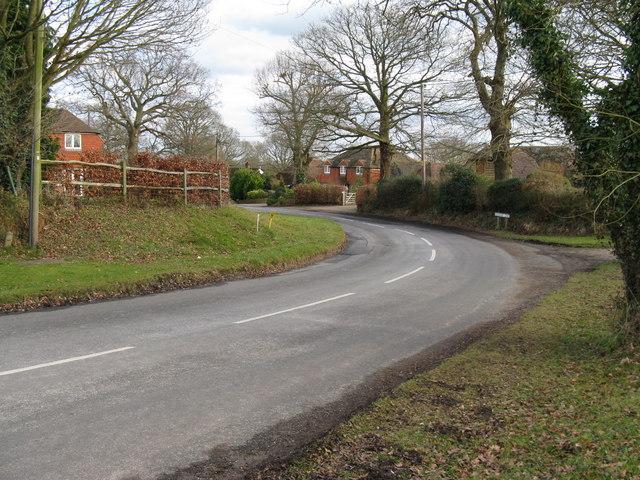 Bend at Rickman's Lane