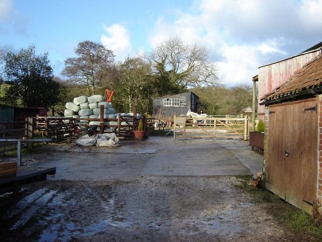 Farmyard  Keasbeck  Farm  Harwood  Dale