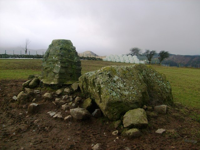 Brynllech trig looking west