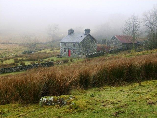 Glan Mynoch farmhouse