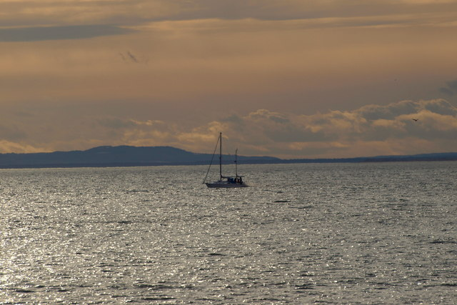A typical sea scene near Arbroath