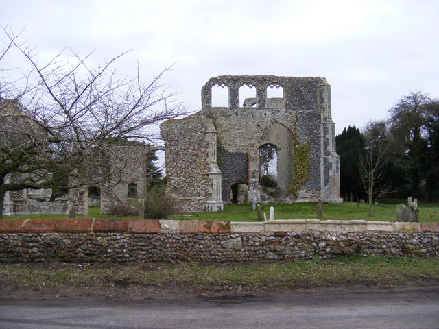 Walberswick Old Church remains
