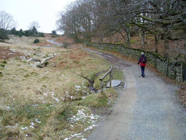 Public Bridleway to Loughrigg Fell