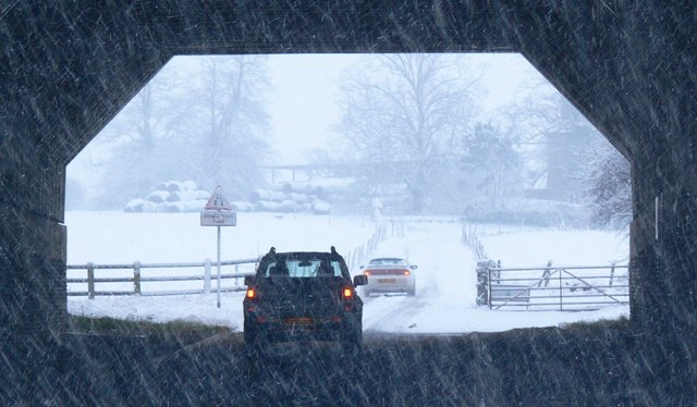 Driving under the motorway