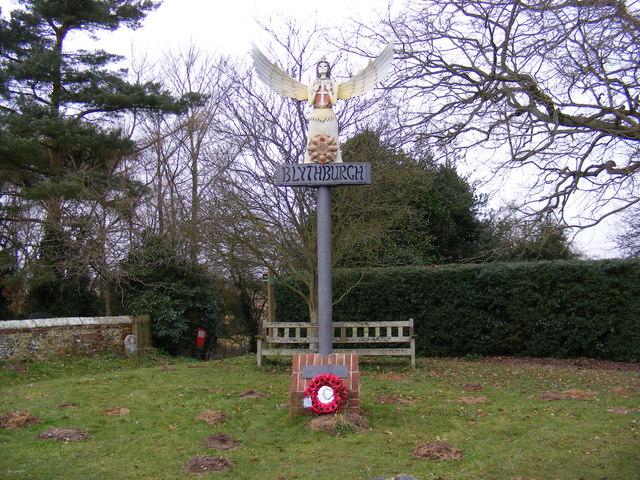 Blythburgh Village Sign