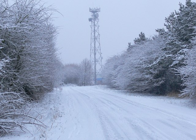 Watergate Lane in the snow