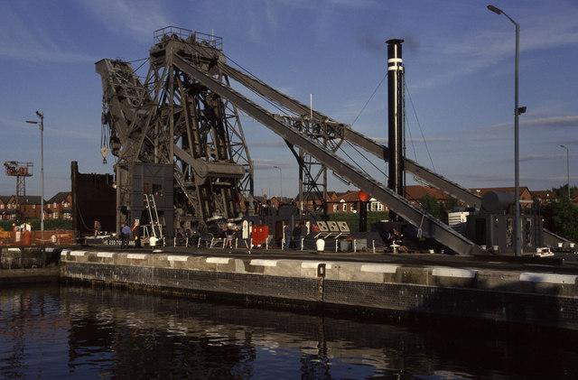 Latchford Locks, Manchester Ship Canal