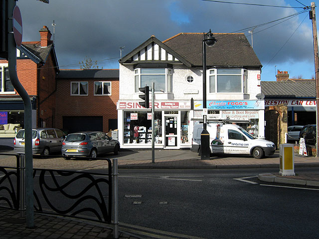 Two Shops on Beeston High Road