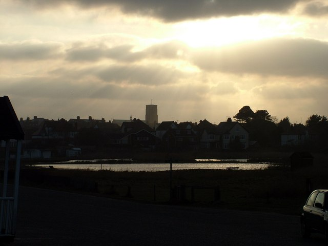 Southwold church and waterways