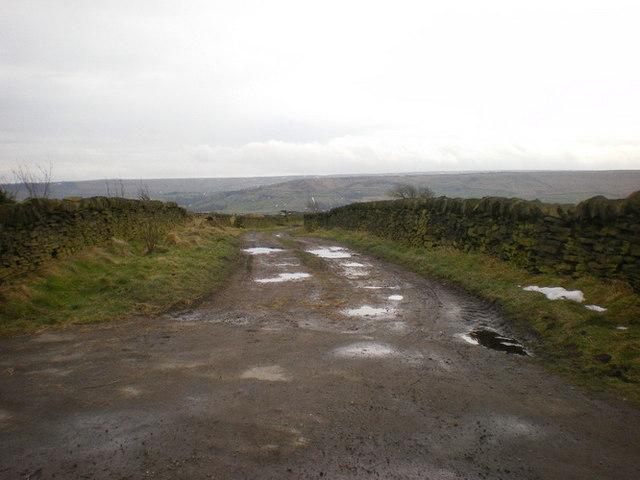 Dark Lane off Ripponden Old Lane