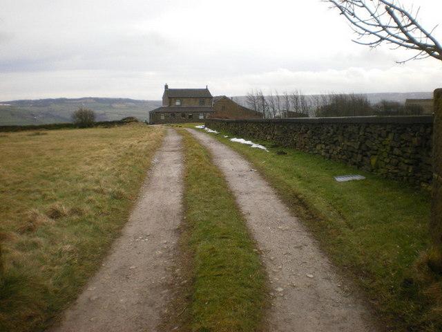 Road to Swift Cross Farm