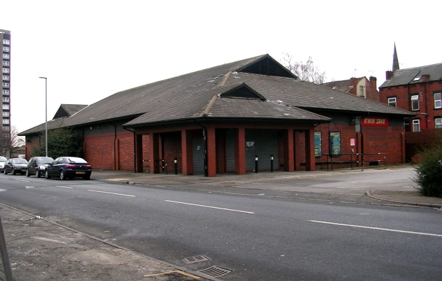 Former Kwik Save - Pleasant Street