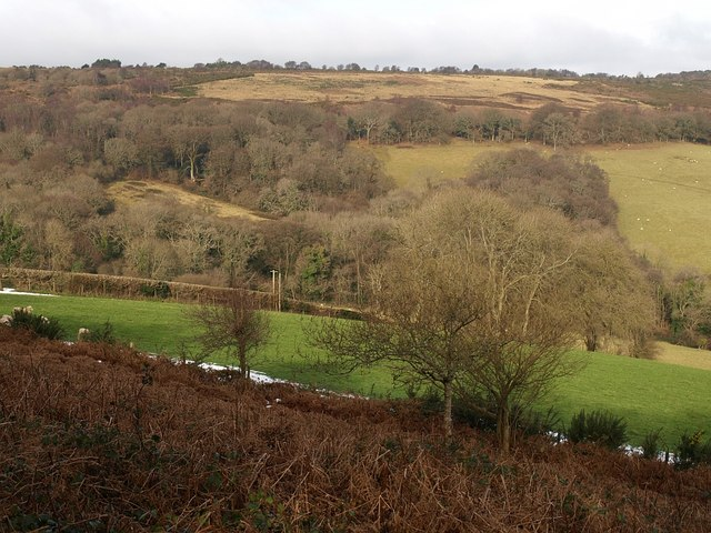 Slopes of Little Haldon