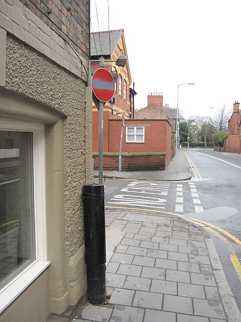 Junction of Forest Street with Love Street