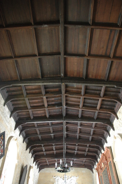 Ceiling of Temple Guiting Church