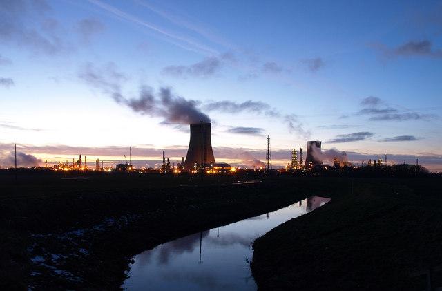Twilight at Saltend