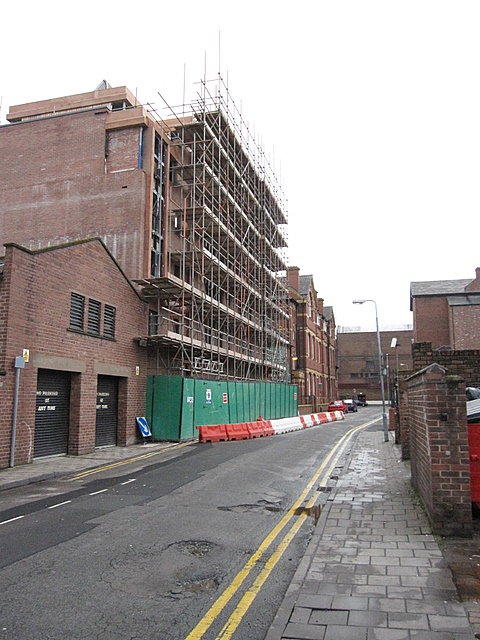 Re-development in Forest Street