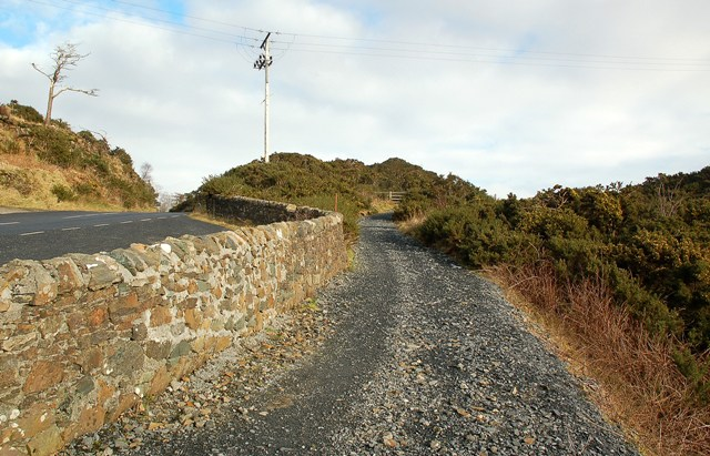 The Footpath From Ballygrant