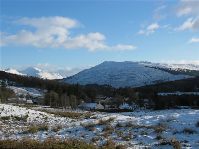Tyndrum from the A82