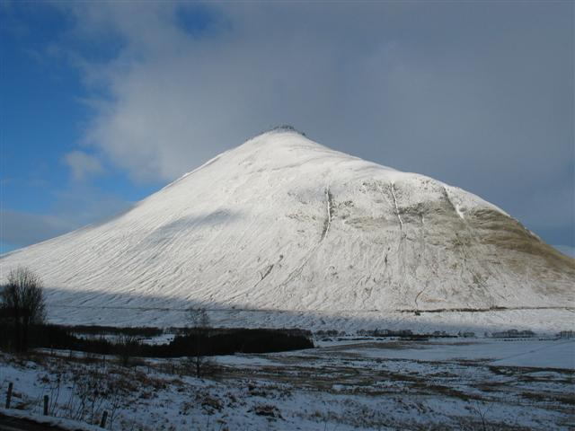 Beinn Dorain from the A82