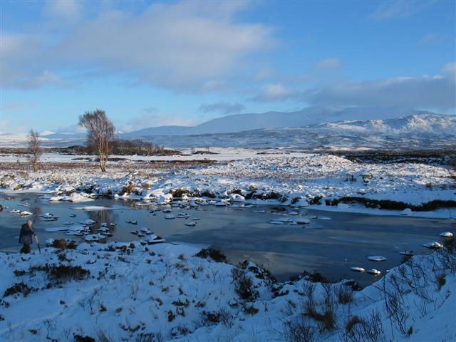 Waterway from Loch Ba