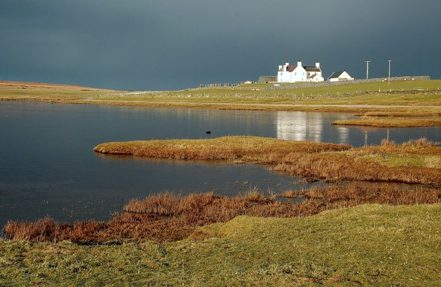 Rain Approaching Ardnave Loch