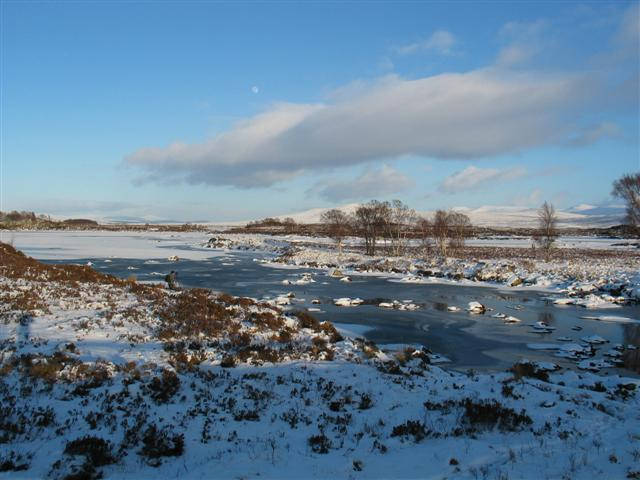 Loch Ba and watercourse from the bridge